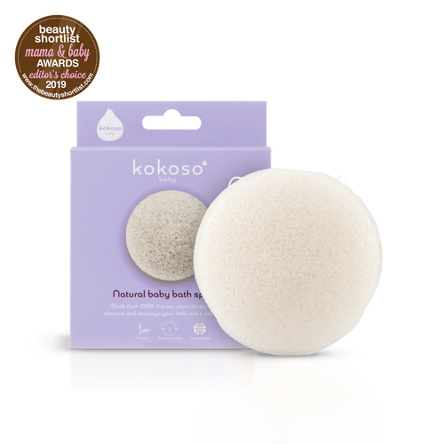 Natural Konjac Baby Bath Sponge
