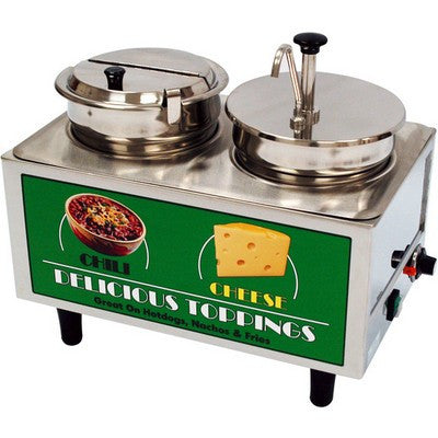 Chili and Cheese Dispensers