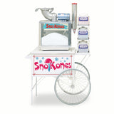 Gold Medal Blue Snow Cone Cart (2015SKB)