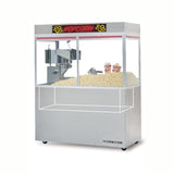 "Gold Medal 48oz 60"" Stadium Style LED Enclosed Popcorn Cornado (2229EDN)"