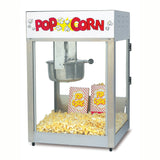 Gold Medal 8oz Stainless Steel Lil Maxx Popcorn Popper Machine (2389)