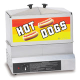Gold Medal Steamin' Demon Hot Dog Steamer with Dry Element (8007DE)