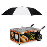 Gold Medal Hot Dog Steamer Cart (8080NS)