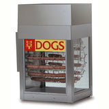 Gold Medal Dogeroo Hot Dog Rotisserie Cooker (8102)