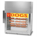 Gold Medal Super Dogeroo Hot Dog Rotisserie Cooker (8103)