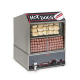 Nemco 150 Dog / 30 Bun Hot Dog Steamer with Low Water Indicator (8300)