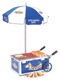 Nemco Hot Dog Steamer Mini Cart (6550-DW)