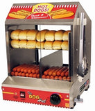 Paragon Dog Hut Hot Dog Steamer & Merchandiser (8020)