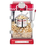 Great Northern Little Bambino Red 2.5oz Retro Table Popcorn Popper