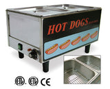 Omcan Delicious Hot Dog Steamer - 50 Hot Dog, 30 Buns (TS-9999)