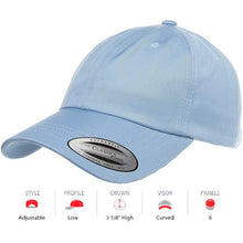 Load image into Gallery viewer, Low Profile Cotton Twill Dad Hat