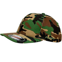 Load image into Gallery viewer, Camo Flexfit in Green Camo