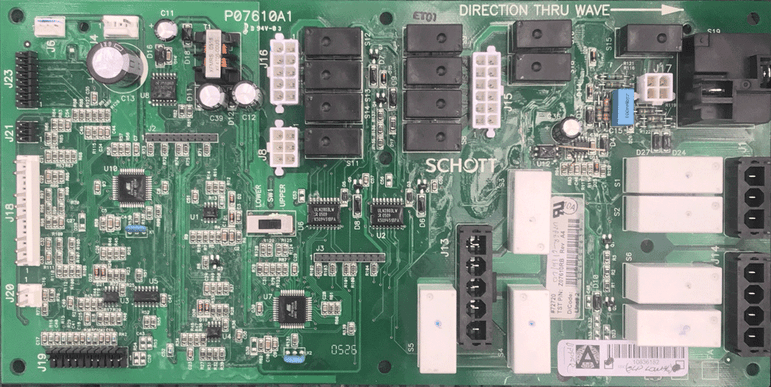 Image of control board part 101559-C