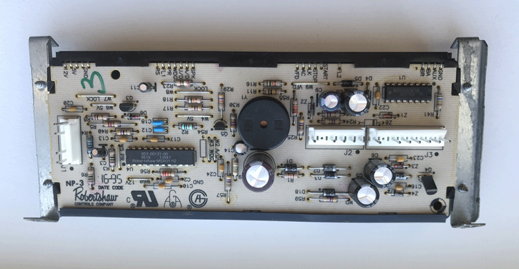 Image of control board part 7601P301-60