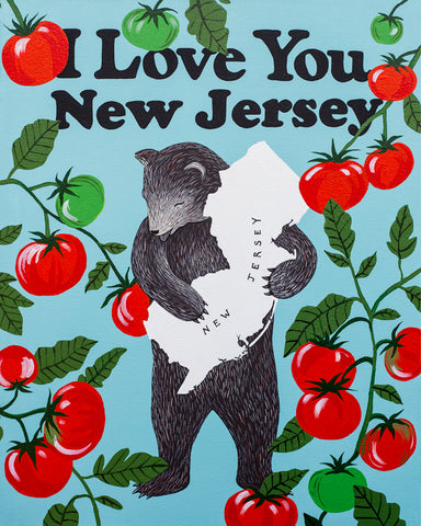 """I Love You New Jersey"" Print"