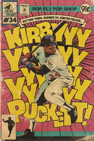 "38. (SOLD OUT) ""Kirbyyyyy Puckett"" 7"" x 10.5"" Art Print"