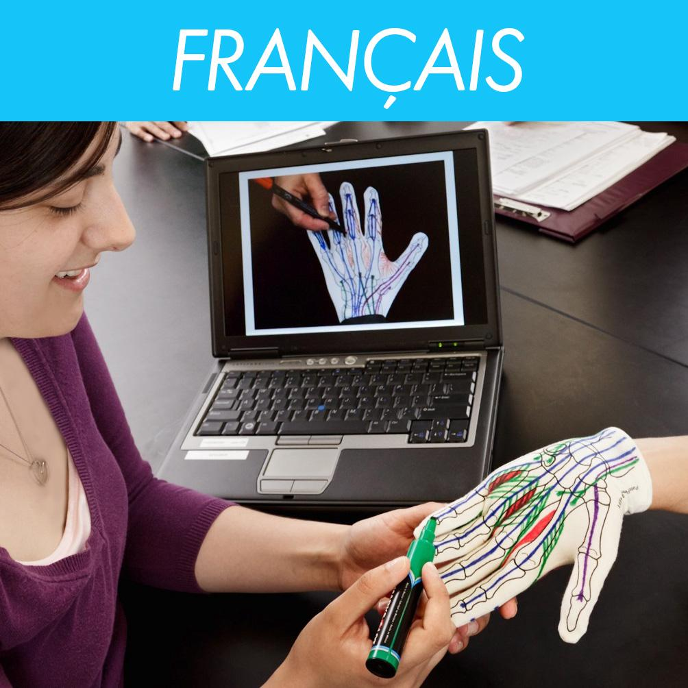 Anatomy Glove Learning System<br>French Videos<br>Vidéos en Français