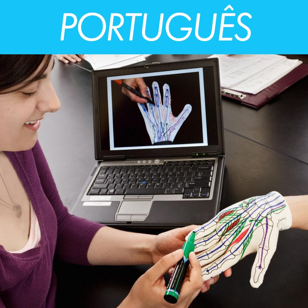 Anatomy Glove Learning System<br>Portuguese Videos<br>Vídeos em português