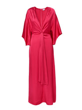 Load image into Gallery viewer, Rochie kimono dama raspberry red