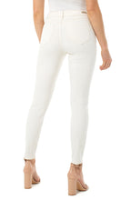 Load image into Gallery viewer, Liverpool - Abby Ankle Skinny Cream Tan Stretch Jeans