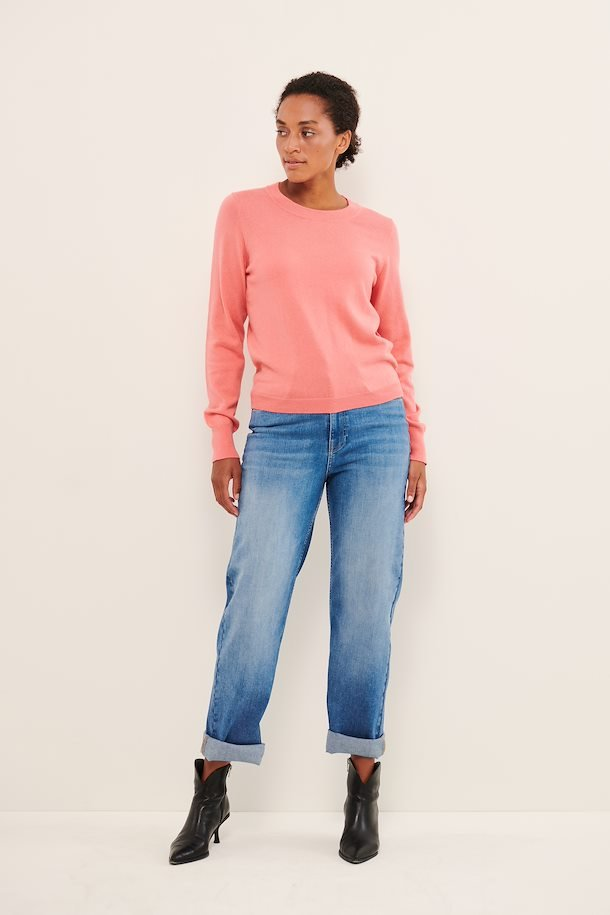 Tea Rose Crew Neck Sweater