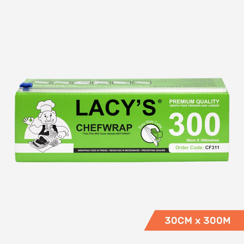Lacy's ChefWrap 30cm x 300m with slide cutter