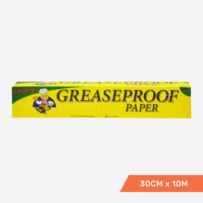 Lacy's Greaseproof Paper, 30cm x 10m