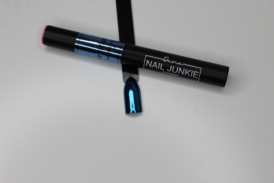 Cushion Chrome Nail Art Pen - All In One