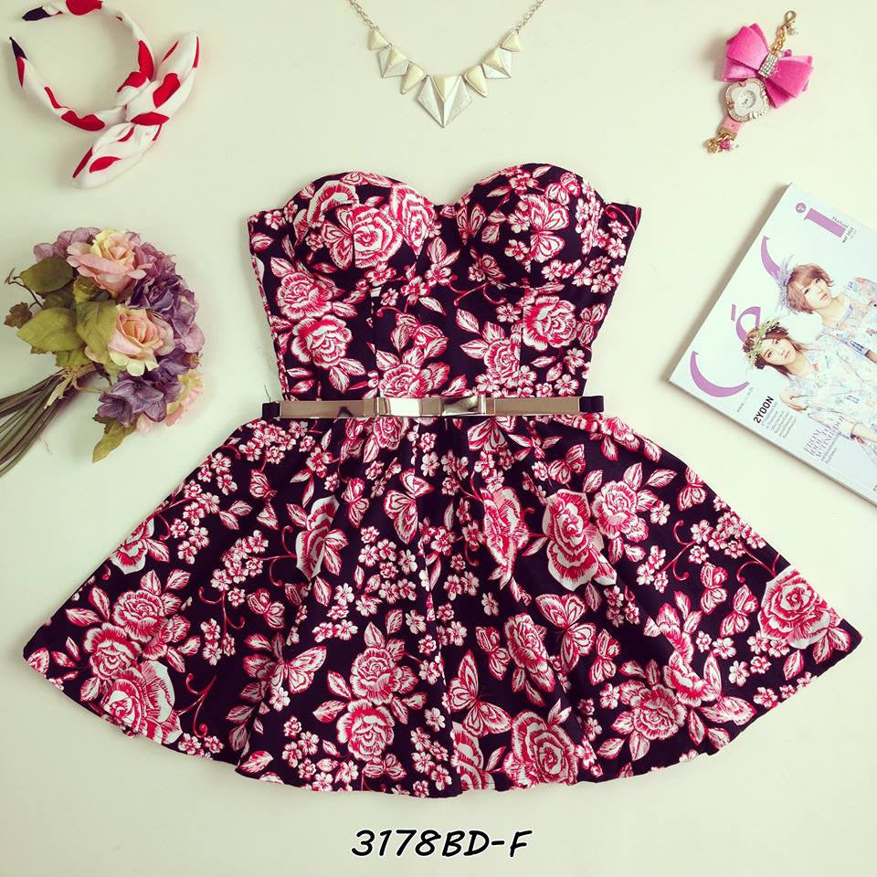 Pinkie Bustier Dress