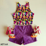 Purple Tetris Set - Sassitude