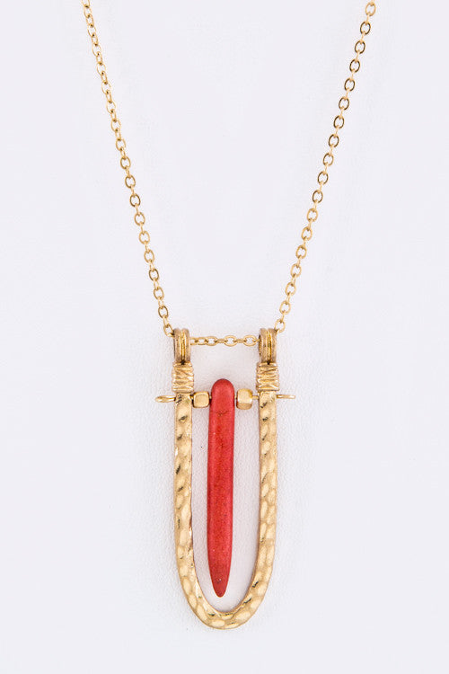 Spear Me Necklace