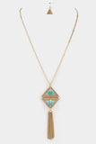 Tribal Gold Necklace - Sassitude