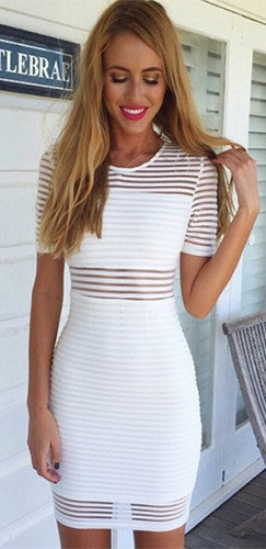 Let Me Love You Banded Dress