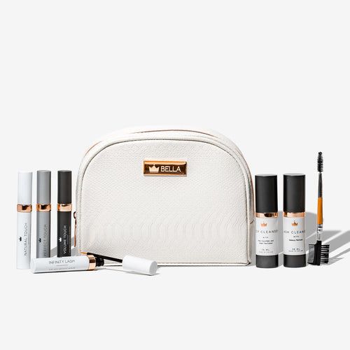 Lash Aftercare Kit, aftercare kit with cleansers and intellisystem and infinity lash