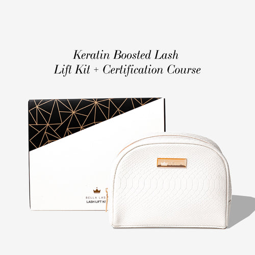 Keratin-Boosted Lash Lift Kit + Certification Box and starter kit