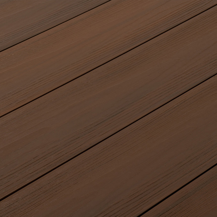 brown composite decking boards