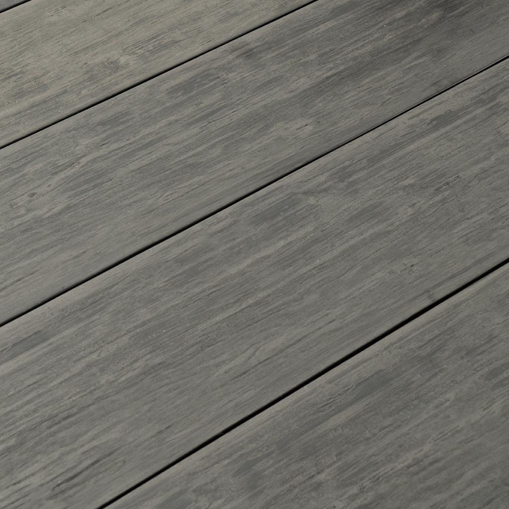 Rustic decking wood grain will not show prominent fading