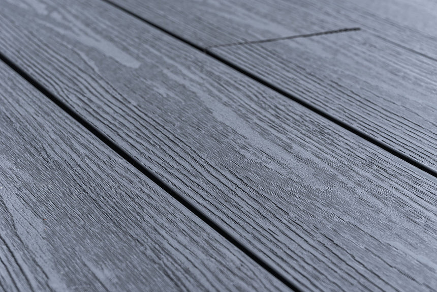 composite decking boards dark grey