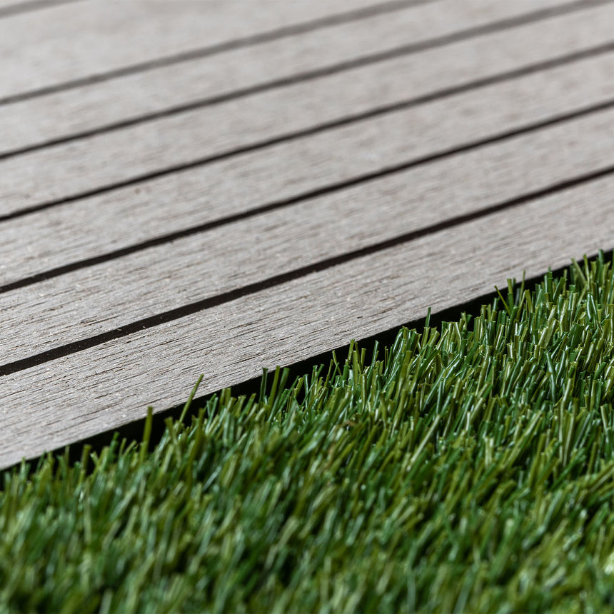 composite decking artificial grass