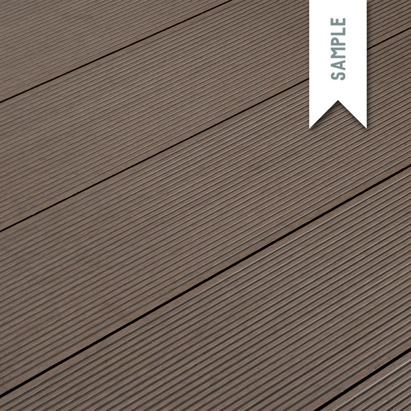composite decking free sample classic coffee