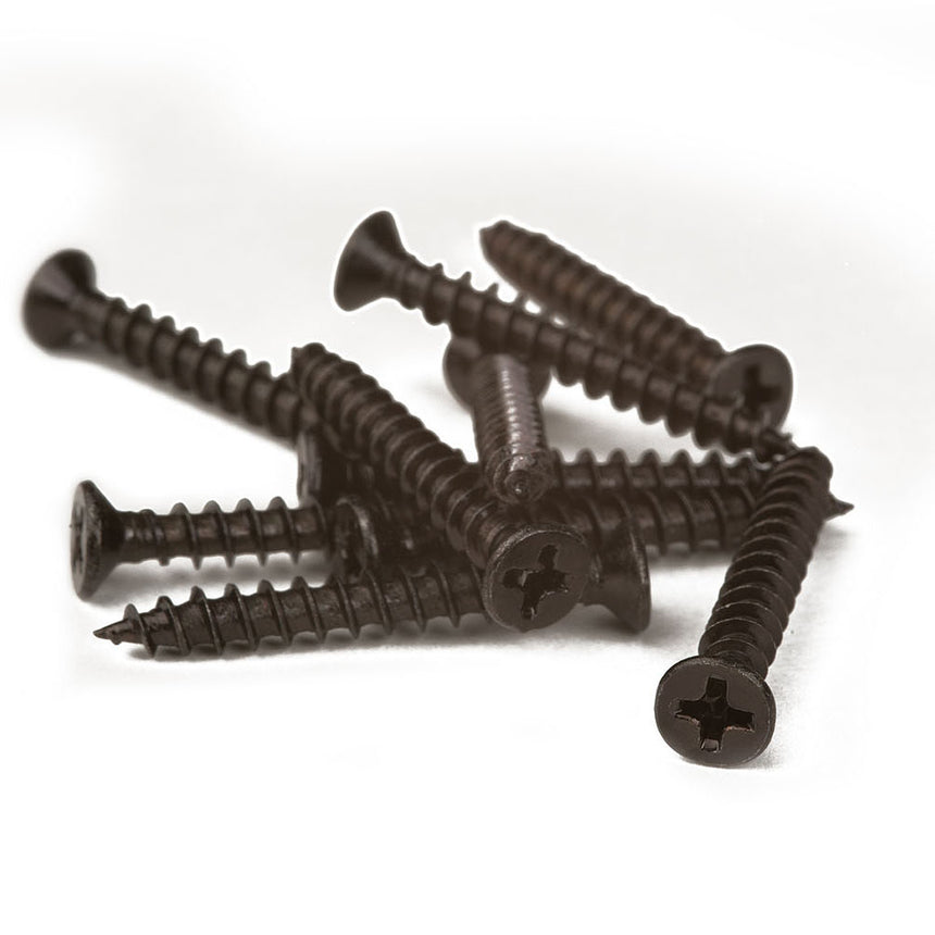 Composite cladding board screws
