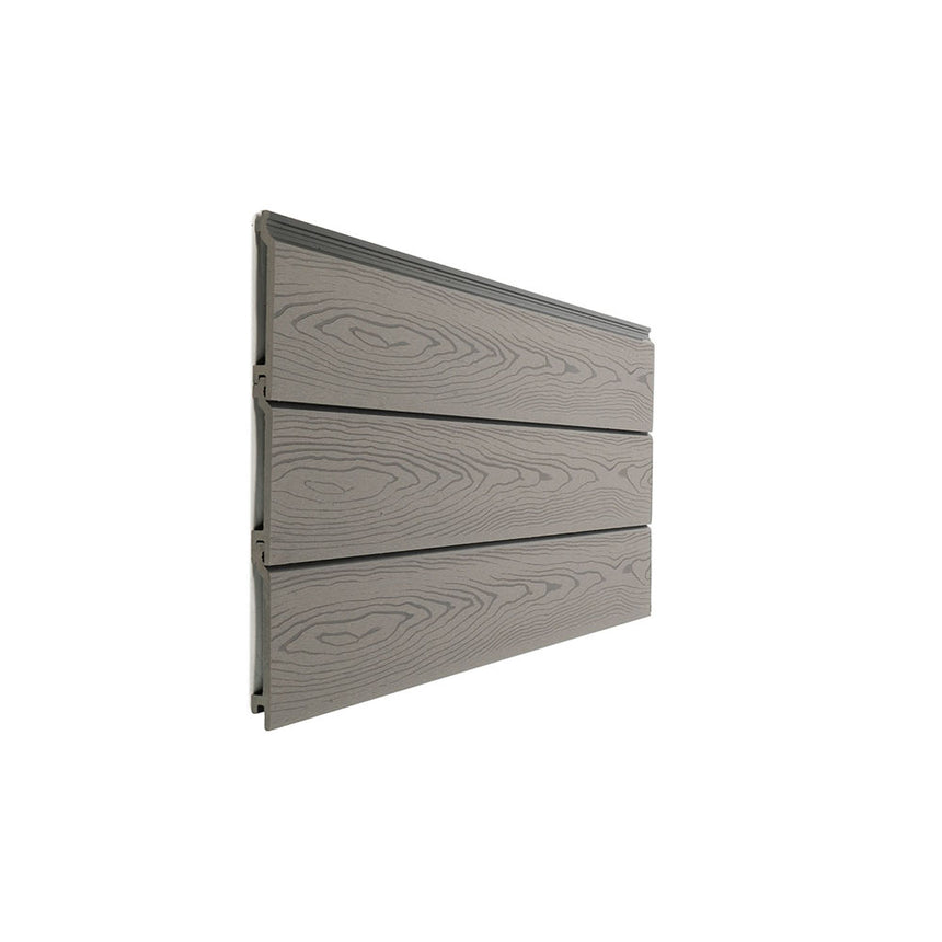 Composite cladding boards light grey