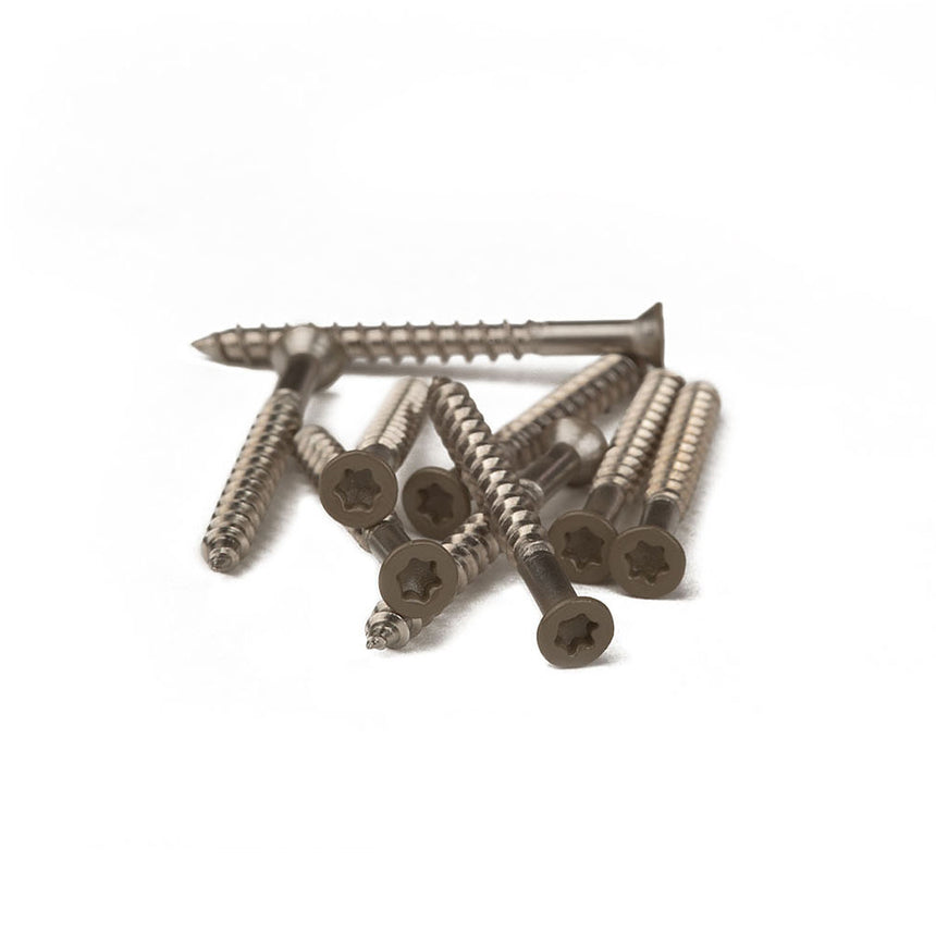 composite decking colour match screws