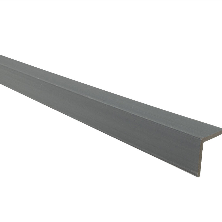 composite decking supreme corner trim light grey