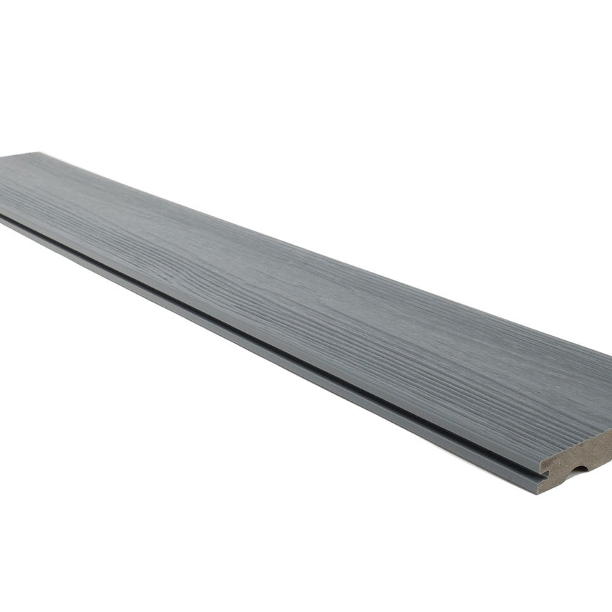 composite decking boards supreme natural wood grain light grey