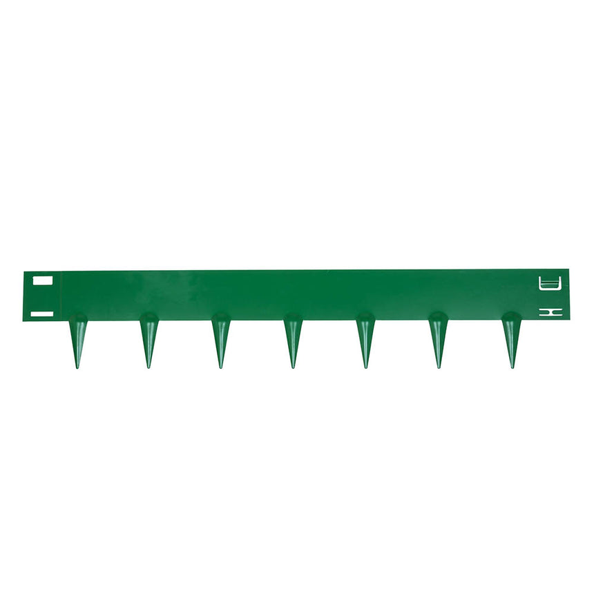 artificial grass metal edging system, green