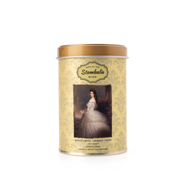 Limited Edition Helmut Sacher's Coffee Tins, 125g