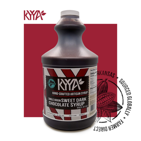 KYYA Ecuador Sweet Dark Chocolate Syrup
