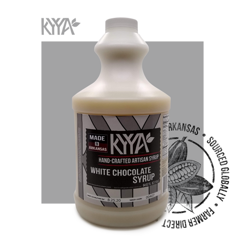 KYYA White Chocolate Syrup