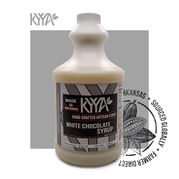 64oz White Chocolate Syrup Free Shipping